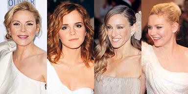 Star Frisuren Kim Catrall Emma Watson Sarah Jessica Parker Kirsten Dunst