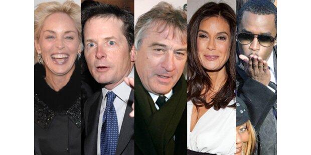 Hollywoods Mega-Stars kamen zur Obama-Party