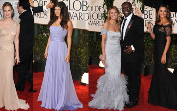 Die Stars bei den Golden Globes