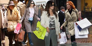 Stars im Shoppingfieber