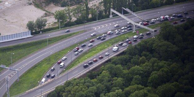 Verkehrskollaps in Österreich
