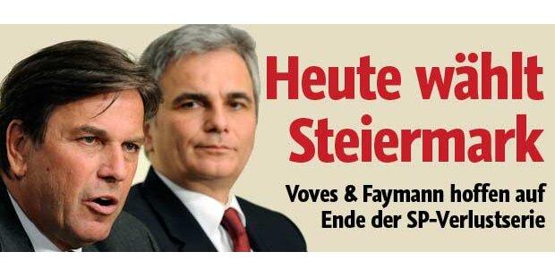 Parteien zittern vor Steiermark-Wahl