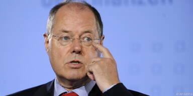 Steinbrück pocht auf faire Verteilung der Lasten