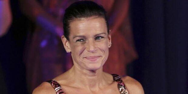 Stephanie von Monaco steht zu ihren Falten