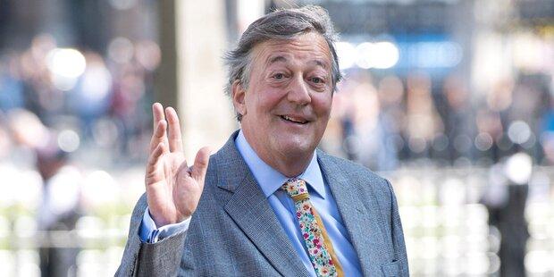 Stephen Fry an Prostata-Krebs erkrankt