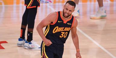 NBA-Star Stephen Curry (Golden State Warriors)