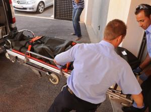 Stephen Gately: Leicham wird abtransportiert