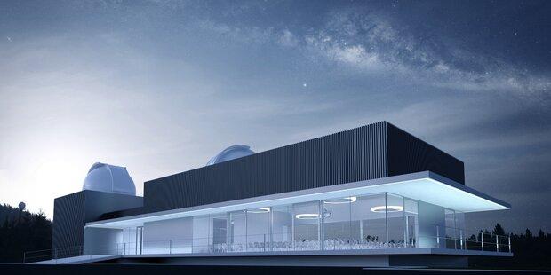 Baubeginn der Haus-der-Natur-Sternwarte