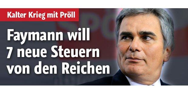 SPÖ vs. ÖVP: Kalter Krieg um Steuern
