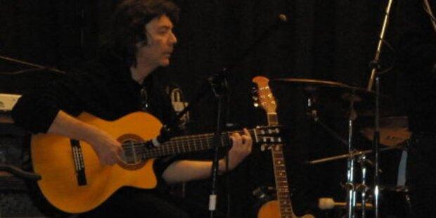 Genesis-Urgestein Steve Hackett rockte Wien