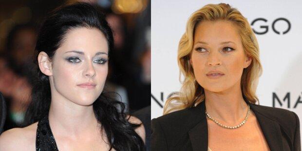 Kate Moss will mit Kristen Stewart singen