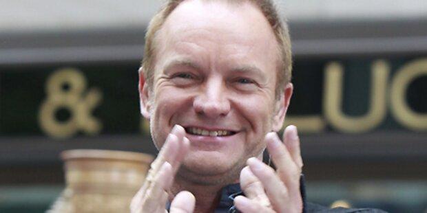 Sting gibt Orchester-Konzert in Wien