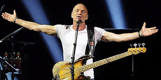 Sting gastierte im Wiener Gasometer