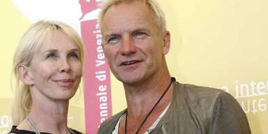 Sting mit Ehefrau Trudie Styler