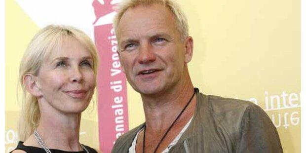Sting und Trudie endlich wieder versöhnt!
