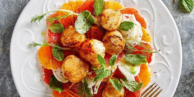 Festliche Fischgerichte