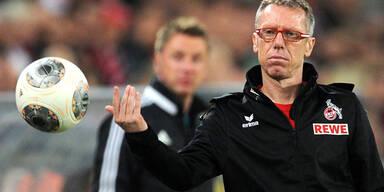Stöger mit Köln vor Bundesliga-Aufstieg