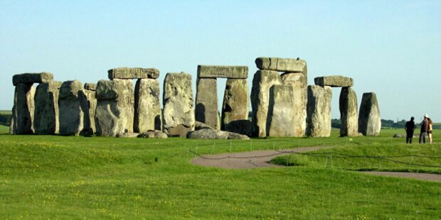 Stonehenge wird für Olympia umgebaut
