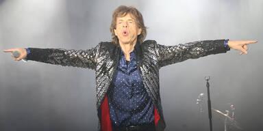 So trauerten die Stones beim 1. Konzert um Watts