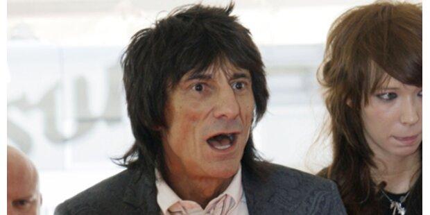 Stones-Star Ronnie Wood festgenommen