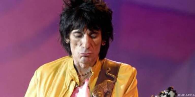 Stones wollen Trunkenbold Ron Wood nicht mehr