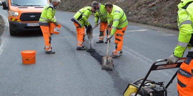 17 Millionen für Straßensanierungen
