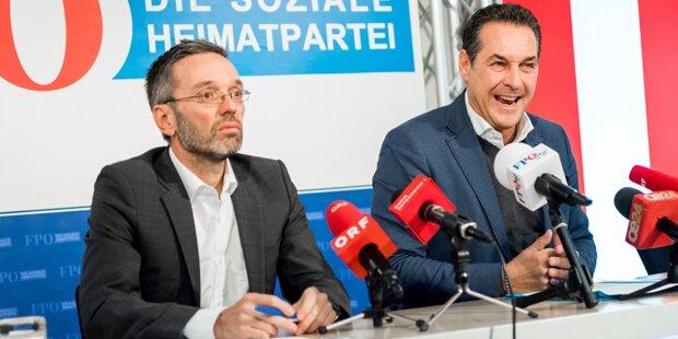 FPÖ präsentiert neue Plakate