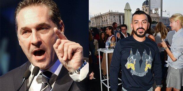 Strache ätzt gegen Rapper Nazar und Van der Bellen