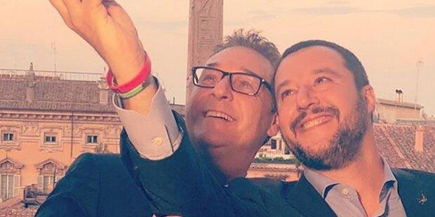Strache: Selfie mit Salvini