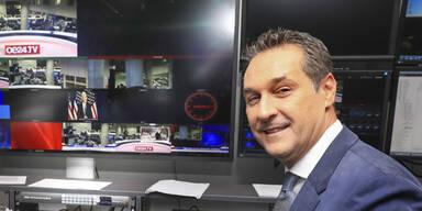 Strache und Hirscher heute auf oe24.TV