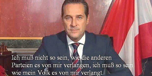 Strache: Shitstorm wegen Facebook-Posting
