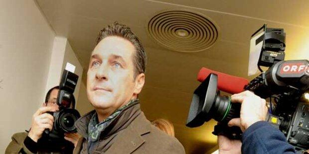 Strache meist genannter Politiker im ORF
