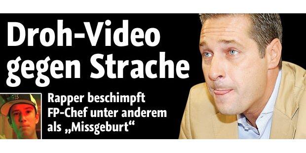 Droh-Video gegen Strache