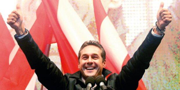 Strache räumt SPÖ in Arbeiterbezirken ab