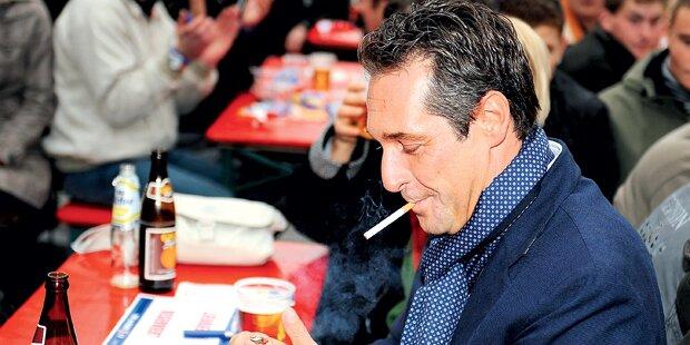 FP-Strache: Kampf gegen Rauchverbot