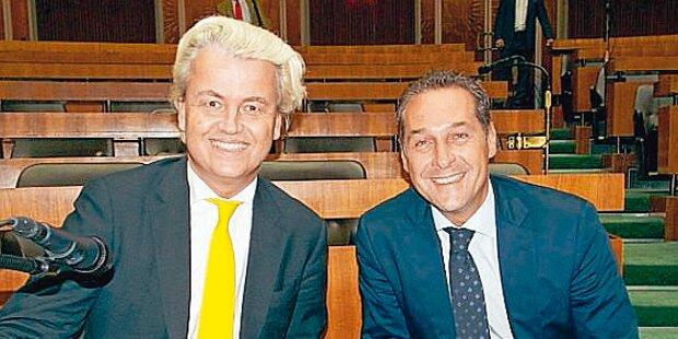 Rechts-Treffen in Hofburg am 27. März