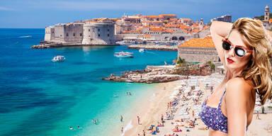 Strand Urlaub Kroatien
