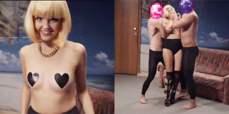 Bonnie Strange strippt für WestBam