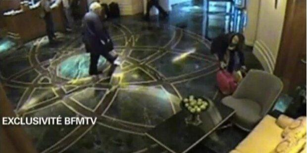 Video von Strauss-Kahn im Hotel aufgetaucht
