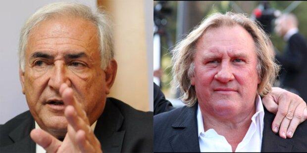 Gerard Depardieu spielt  Strauss-Kahn