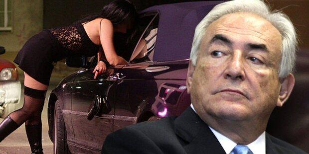 Sex-Ermittlung gegen Strauss-Kahn