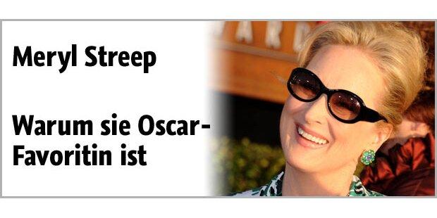 Meryl Streep ist Top-Favoritin für Oscar