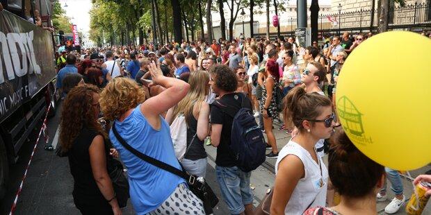 Streetparade sorgt für Stau-Chaos in Wien
