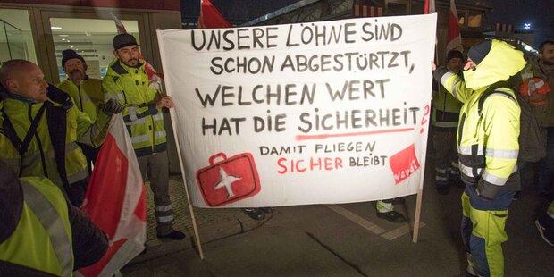Streik an Berlins Flughäfen: Wien-Flüge betroffen