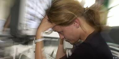 Stress am Arbeitsplatz macht krank
