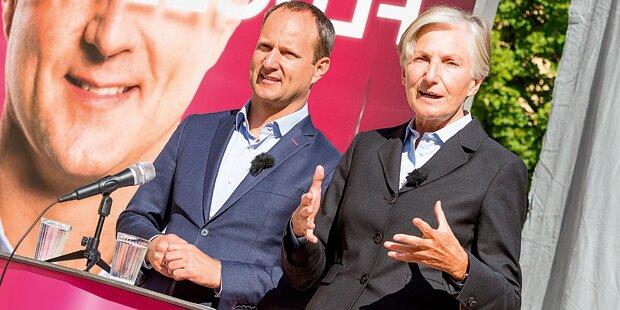 Griss soll bürgerlich-liberale, Strolz und Meinl-Reisinger SP-Wähler holen
