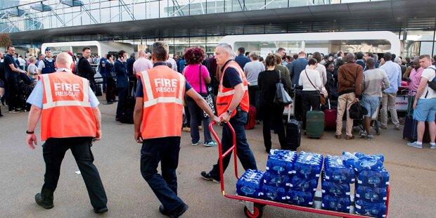 Stromausfall legt Brüsseler Airport lahm