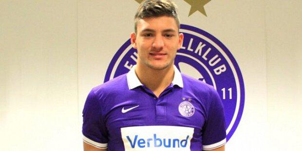 Jungstar Stronati kommt zur Austria