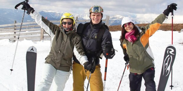 Wiens Hausberge starten in Skisaison