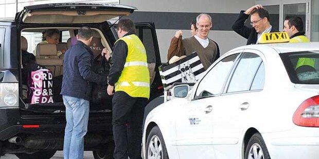 Millionärs-Familie reist mit über 80 Koffern